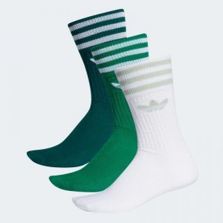 Adidas Originals Socken Solid Crew Sock - grün/weiß/mint