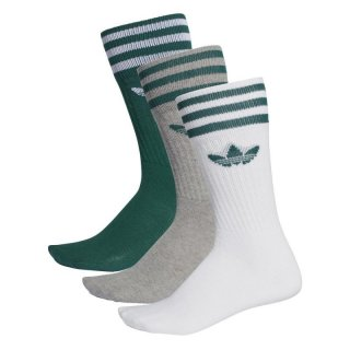Adidas Originals Socken Solid Crew Sock - grün/weiß