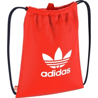 Adidas Trefoil Turnbeutel Gym Sack - orange/weiß