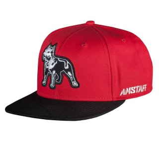 Amstaff Snapback Cap Timus one Size - rot