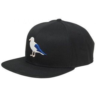 Cleptomanicx 6 Panel Snapback Gull2 - schwarz