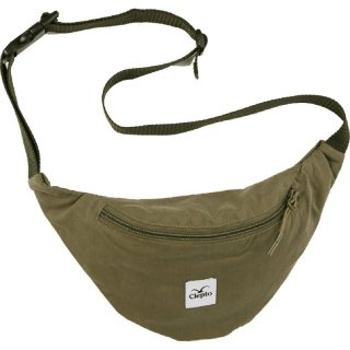 Cleptomanicx Bauchtasche HipBag C.I. Patch - dusty oliv