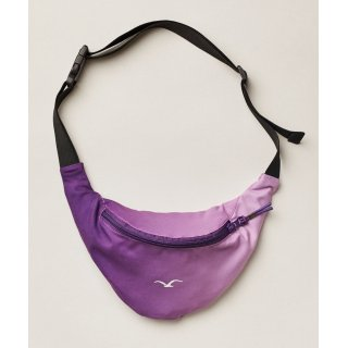 Cleptomanicx Bauchtasche Super Pattern - acai purple