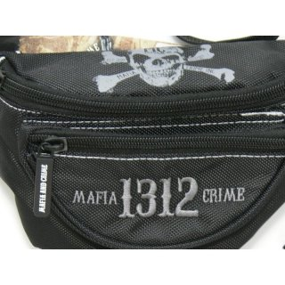 Mafia & Crime Bauchtasche MC 1312 - black/anthrazite