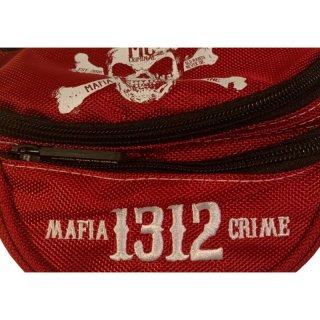 Mafia & Crime Bauchtasche MC 1312 - red/white