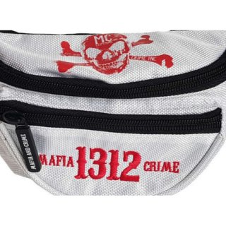 Mafia & Crime Bauchtasche MC 1312 - white/red