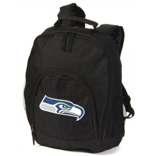 NFL Rucksack Backpack Team Logo schwarz - Seattle Seahawks