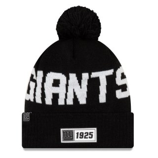 New Era Bommelmütze ONF19 Sport Knit schwarz - New York Giants
