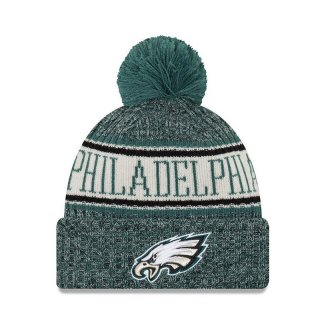 New Era Bommelmütze Team Knit Bubble Cuff Sport - Philadelphia Eagels