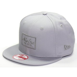 New Era Cap 9fifty Snapback Tonal Collection  - grau