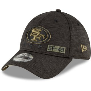 New Era Cap Salute To Service 39thirty schwarz - San Francisco 49ers