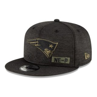 New Era Kappe Salute To Service 9Fifty schwarz - New England Patriots