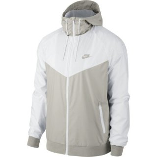 Nike Windrunner Jacket Windjacke - light bone/weiß
