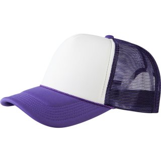 Trucker Cap Old School 2-Tone - lila/weiß