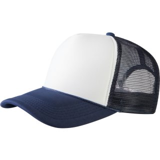 Trucker Cap Old School 2-Tone - navy/weiß