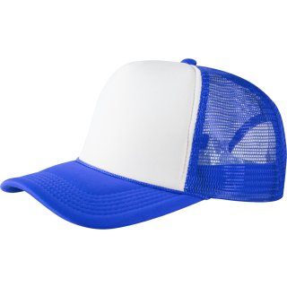 Trucker Cap Old School 2-Tone - royal/weiß