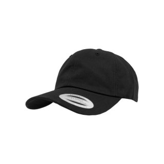 Yupoong Classics Low Cotton Twill Cap - schwarz
