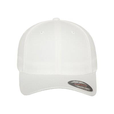 Flexfit Baseball Cap basic weiß L/XL