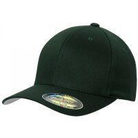 Flexfit Baseball Cap basic spurce grün Youth