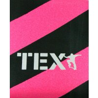 TEX Skateboard Griptape big stripes pink/black