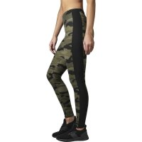 Urban Classics Leggings woodcamo Stripe