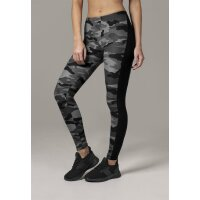 Urban Classics Leggings darkcamo Stripe