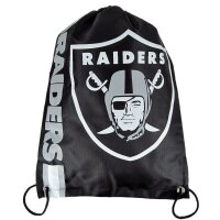 NFL Sportbeutel Cropped Team Logo  Oakland Raiders