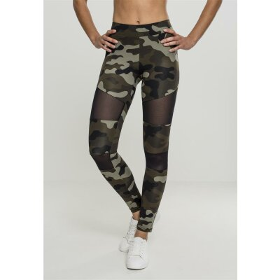 Urban Classics Leggings Woodcamo Mesh S