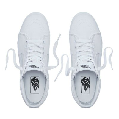Vans Sk8-Hi High Top Sneaker true white