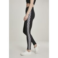 Urban Classics Leggings Side Check schwarz