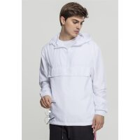 Urban Classics Windbreaker Basic Pull Over weiß