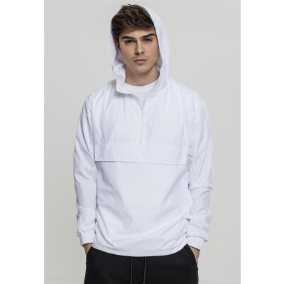 Urban Classics Windbreaker Basic Pull Over weiß S