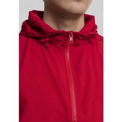 Urban Classics Windbreaker Basic Pull Over fire red