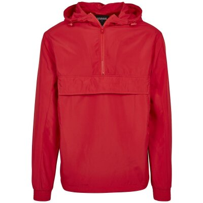 Urban Classics Windbreaker Basic Pull Over fire red L