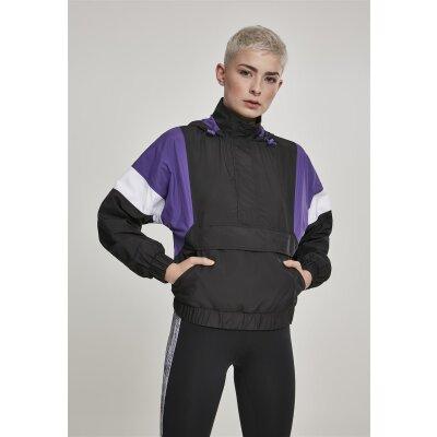 Urban Classics Damen Schlupfjacke Holographic Pull Over Jacket