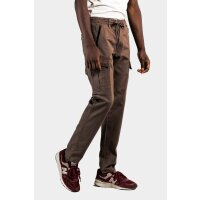 REELL Cargo Tech Pant Herren Hose grey brown