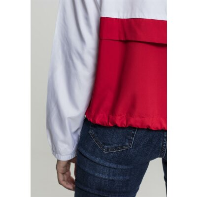 Urban Classics Oversize Windbreaker firered M