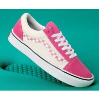 Vans Old Skool Comfycush check carmin pink