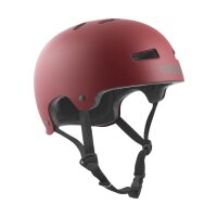 TSG Helm schwarz Evolution satin oxblood