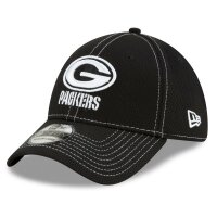 New Era Cap 39thirty NFL19 SL RD Packers schwarz