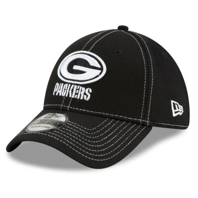 New Era Cap 39thirty NFL19 SL RD Packers schwarz M/L