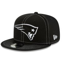 New Era Cap 9fifty NFL19 SL RD Patriots schwarz