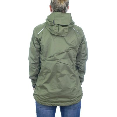 North Bend Exorain Funktionsjacke Outdoorjacke oliv