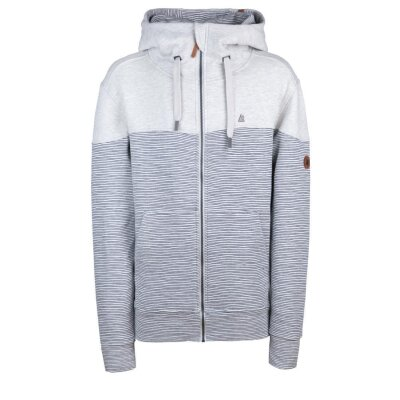 Alife and Kickin Kapuzen Sweatjacke HURRICANE cloudy stripe