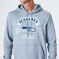 New Era Kapuzenpullover Seahawks NFL Graphic grau