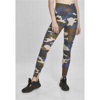 Urban Classics Leggings High Waist Tight Camouflage