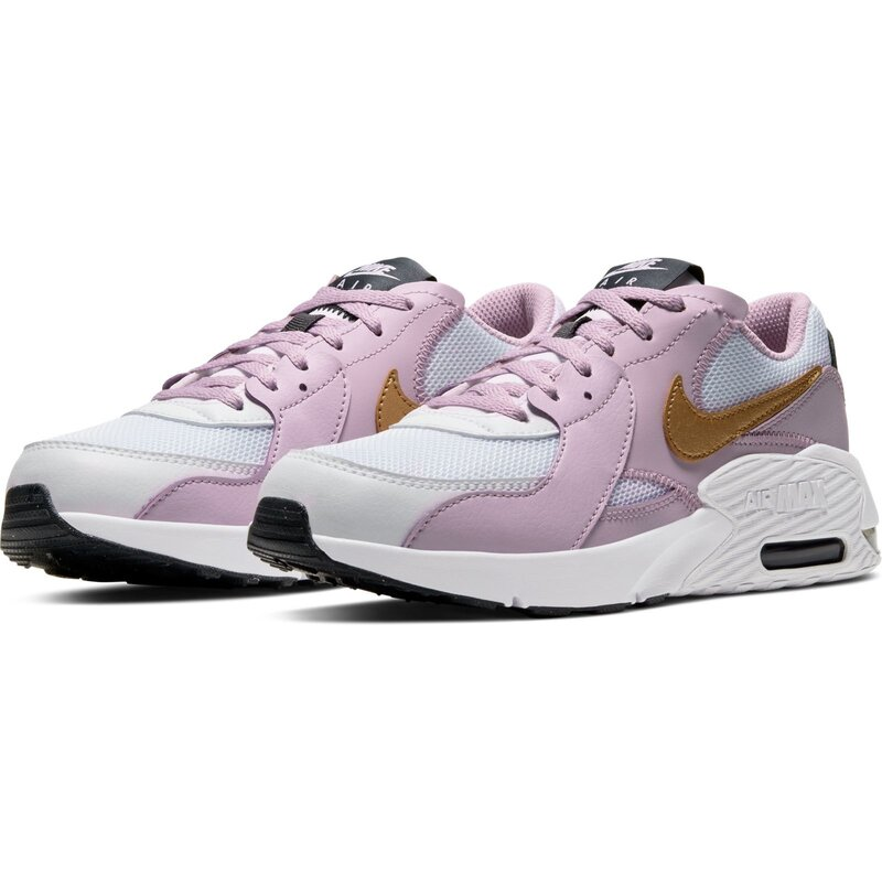 Nike Air Max EXCEE Sneaker (GS) weißlilagold