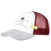 Coastal Kappe Trucker Cap hft New Line white/bordeaux