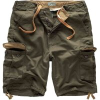 Surplus Vintage Shorts washed Cargoshort oliv