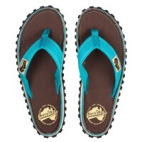Gumbies Zehentrenner Sandale Brown Retro